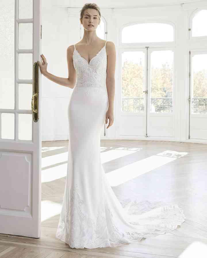 Vestidos De Novia Sencillos 45 Diseños Románticos Y Elegantes