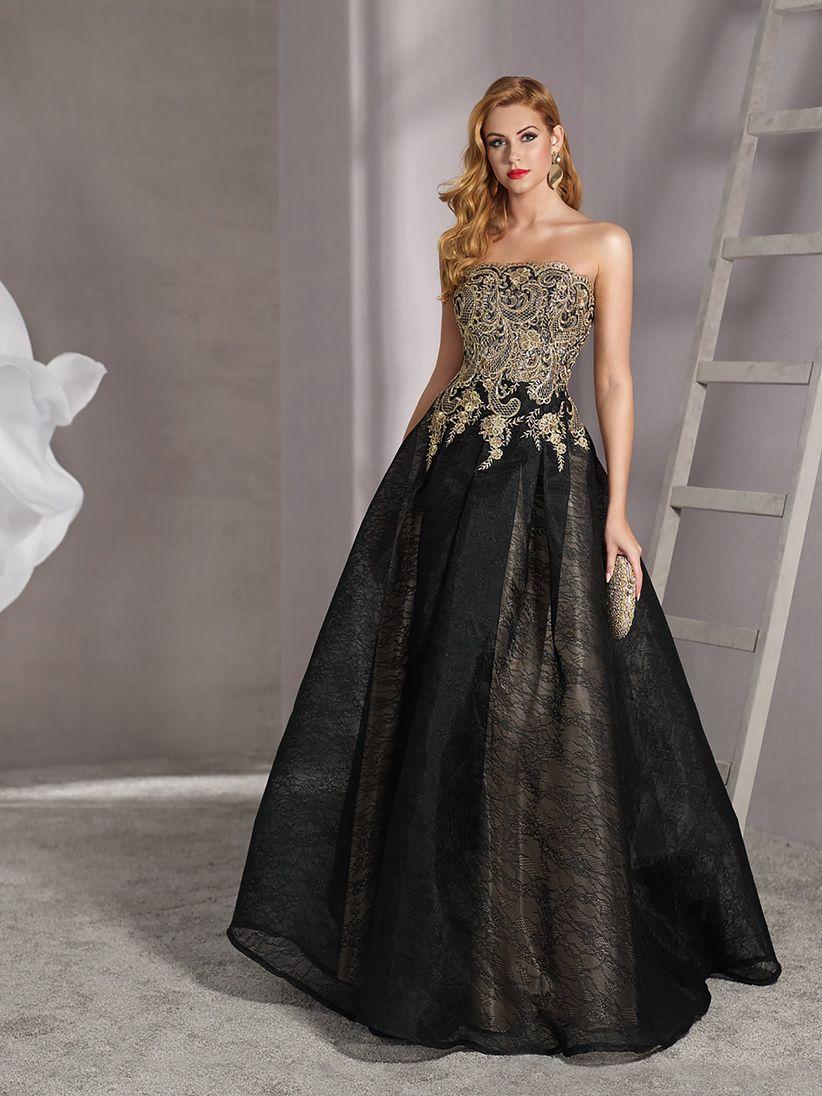 Disenos de vestidos de noche modernos