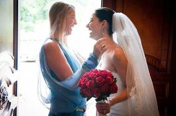 La mamá de la novia