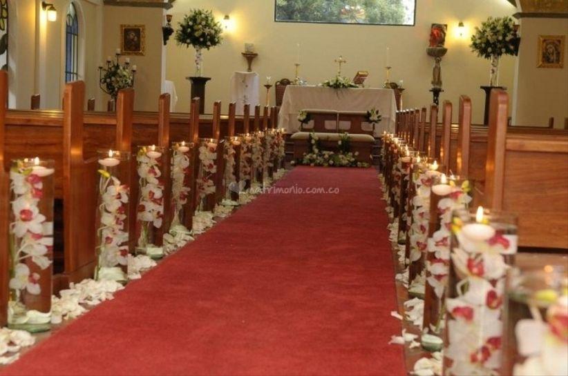 Arreglos de iglesia para matrimonio - Imagui