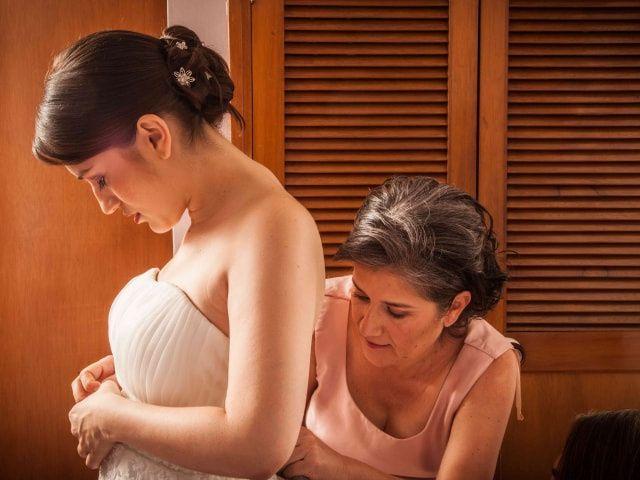 Trucos para minimizar tu cintura en tu vestido de novia