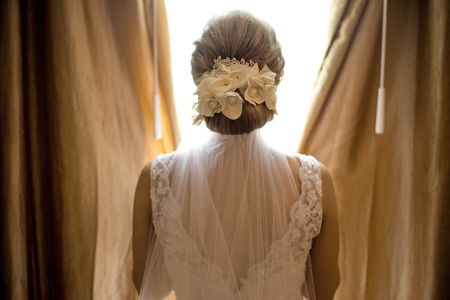 Peinados para novias bajitas