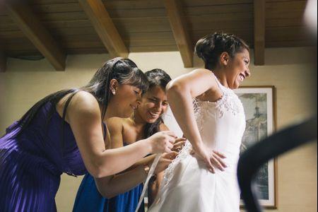 Look de novia para un matrimonio civil