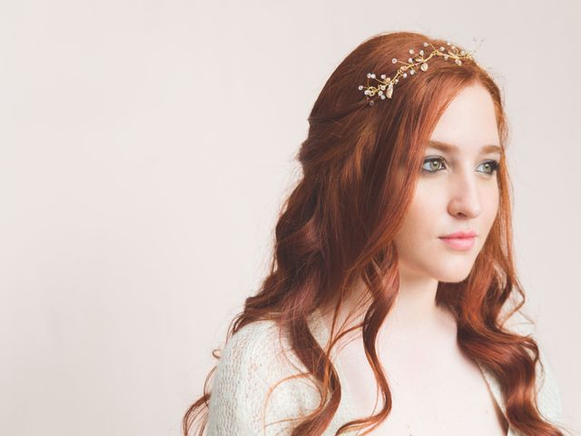 Los tocados de novia más espectaculares con diseños de flores