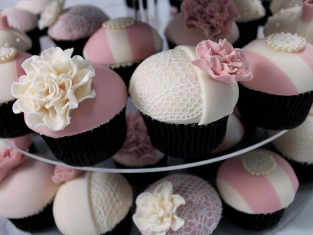 Cupcakes para tu mesa de dulces