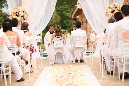 Cómo decorar el lugar de la ceremonia