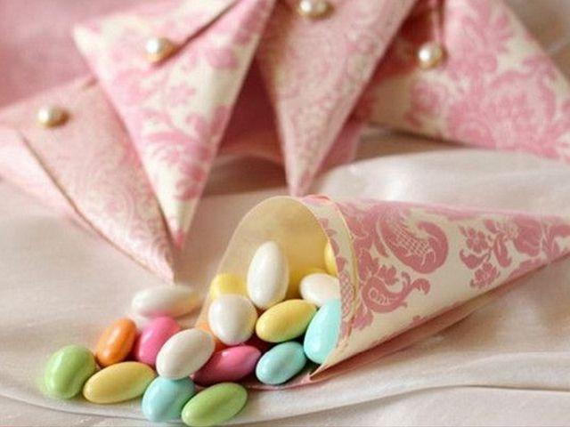 Detalles para tu boda: conos de papel