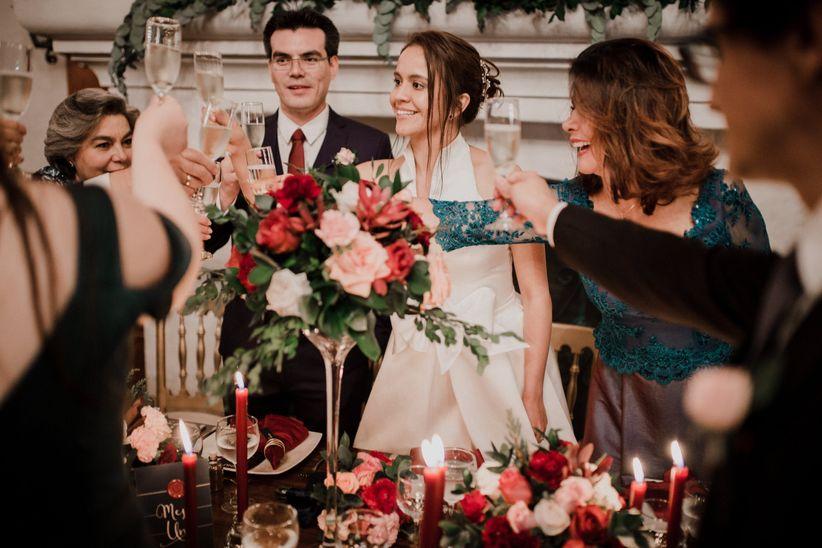Resultado de imagen para brindis de la boda con los familiares