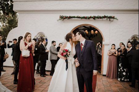 Entrada y salida de la iglesia: recordando el protocolo del matrimonio