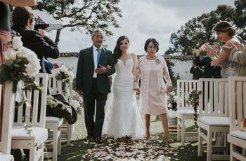 ¿Quién podría llevar a la novia hasta el altar?