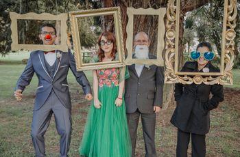 Photocall para matrimonio: las fotos divertidas que querrán tener