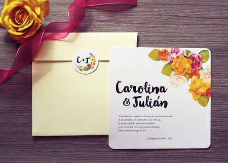 35 tarjetas de matrimonio modernas y con estilo