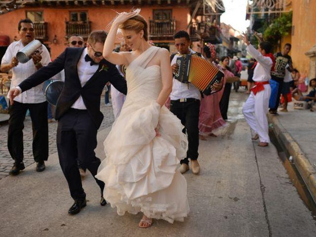 Shows temáticos para la fiesta del matrimonio: al mejor ritmo colombiano