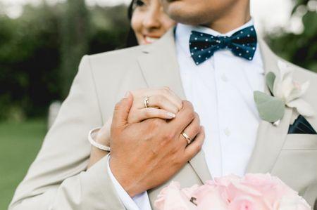Eligiendo las argollas de matrimonio: ¿iguales o diferentes?