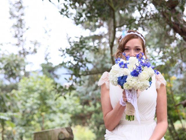 5 ideas para tener algo azul en el look de novia