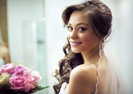 Peinados para novia: 20 peinados semirrecogidos