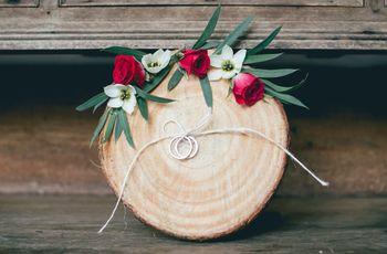 25 opciones para llevar las argollas de matrimonio