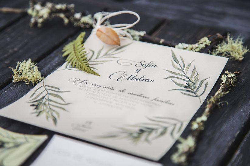 Invitaciones Para Matrimonio Rustico : Las invitaciones para un matrimonio de estilo rústico