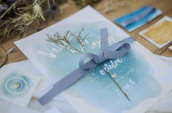 Tipos de papel para las invitaciones de matrimonio