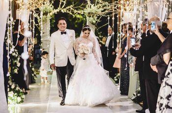 El papá de la novia: el estilo perfecto para acompañar a su hija al altar