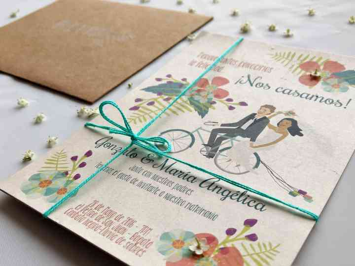 Invitaciones de boda: 22 ideas originales