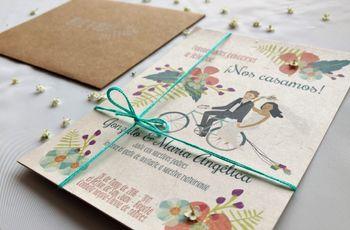 Tarjetas de matrimonio originales: 23 ideas extraordinarias