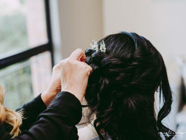 Saca partido a tu peinado si eres una novia de baja estatura