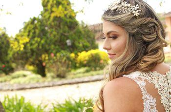Peinados elegantes para novias, tendencias que te encantarán