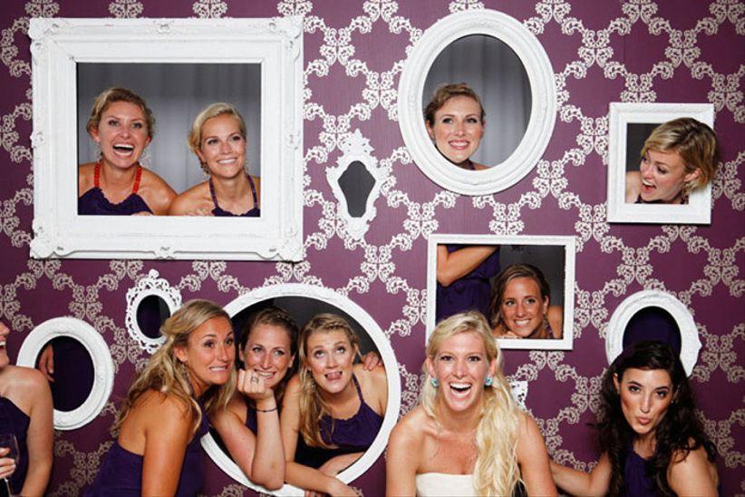 25 fabulosas ideas para el photocall de tu matrimonio