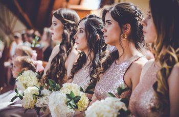 5 damas de honor que una novia debería tener
