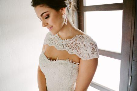 Elige las joyas de acuerdo al escote de tu vestido de novia