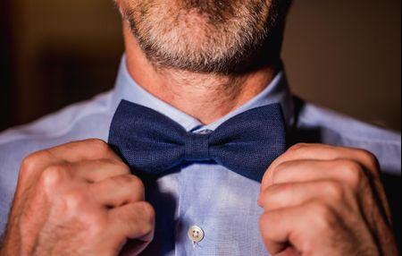 Accesorios para novio: corbatín para complementar el estilo de nupcial