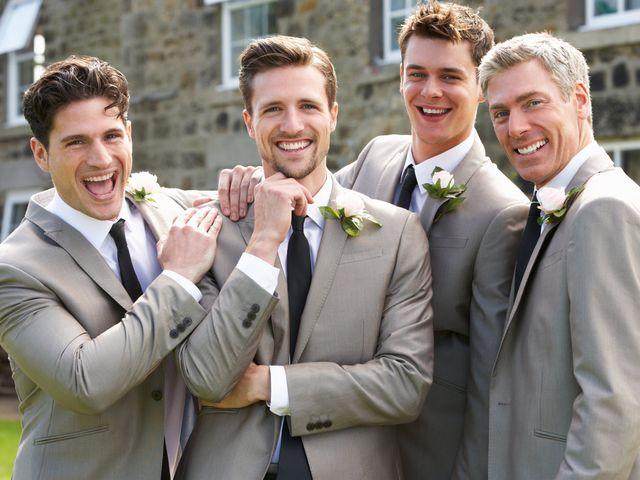 5 tipos de traje para novio