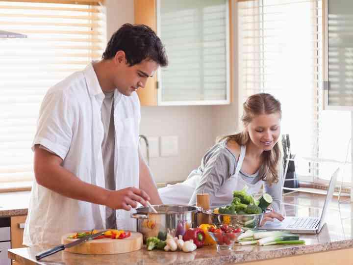 Cocinando para dos