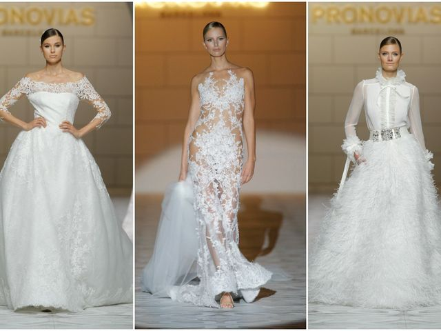 Pronovias 2015 Barcelona Bridal Week