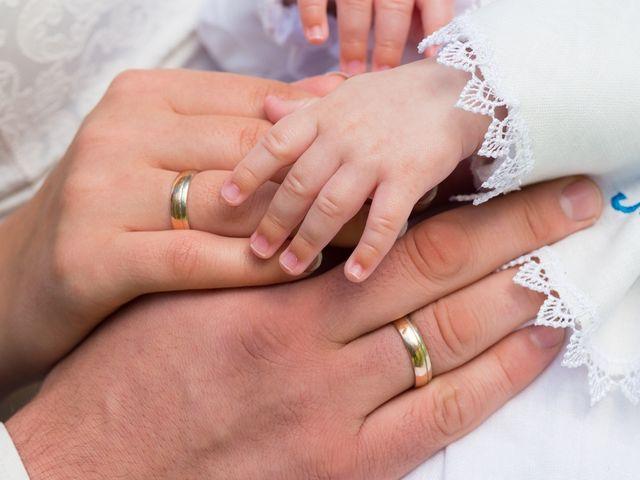 El Matrimonio Y El Bautizo De Su Hijo A A La Vez
