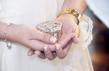 ¿En qué llevar las arras de matrimonio?