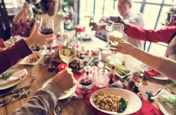 Navidad junto con la familia de tu pareja
