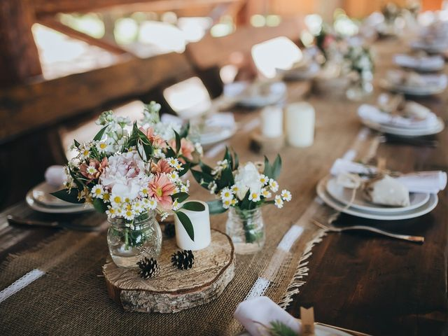 Ideas de decoración con estilo rústico para las mesas