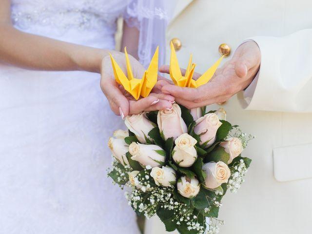 Origami y papel para la decoración de matrimonio