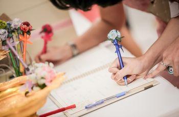 Libro de firmas DIY: diséñenlo de acuerdo con su gusto y personalidad