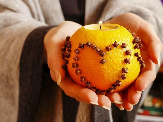 DIY: Naranjas luminosas para tu matrimonio