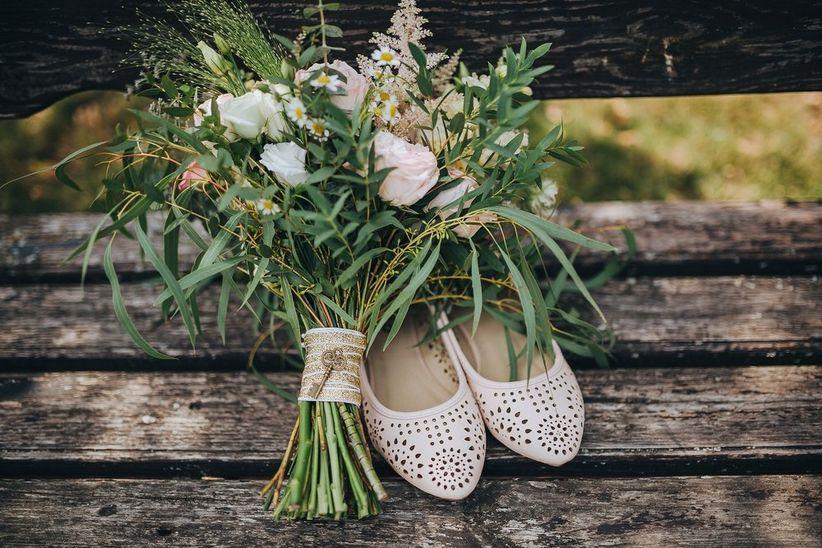 Vestidos de novia que se vean los zapatos