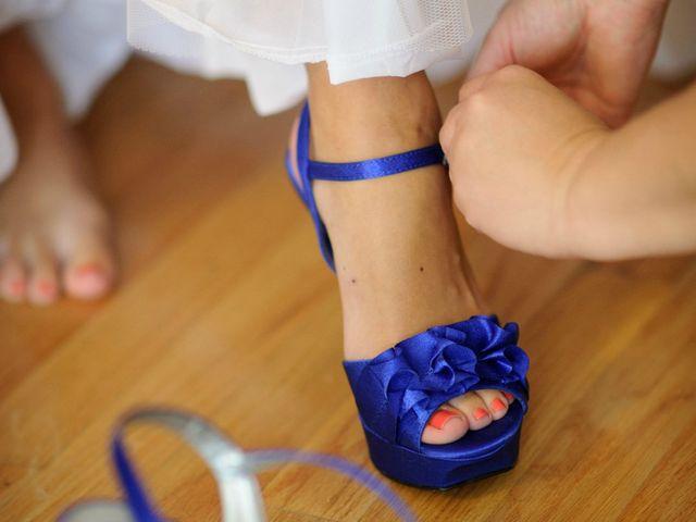 Zapatos de novia azules: 25 diseños que te enamorarán