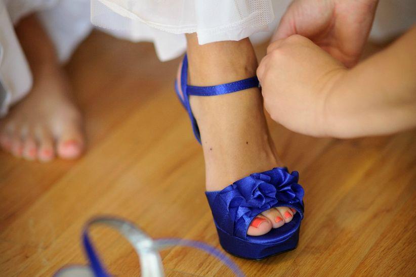 2297494e14 Zapatos de novia azules  25 diseños que te enamorarán