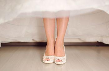 Test: ¿Qué estilo de zapato de novia será el indicado para ti?