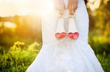 Zapatos de novia: 50 diseños únicos y con personalidad