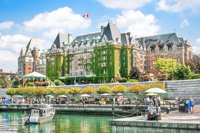 Fachada Hotel Fairmont Empress, Canadá