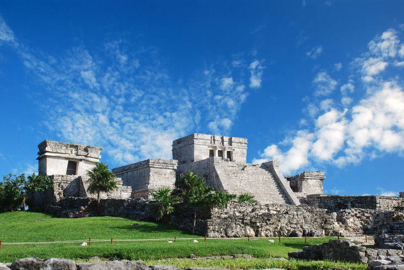 Ruinas Castillo Tulum
