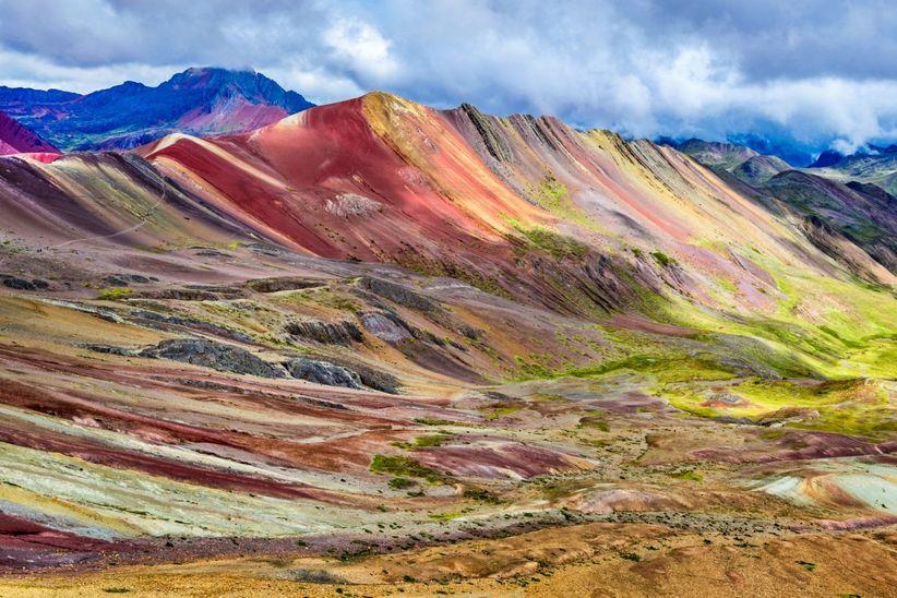 Montaña de Siete Colores, Región Cusco